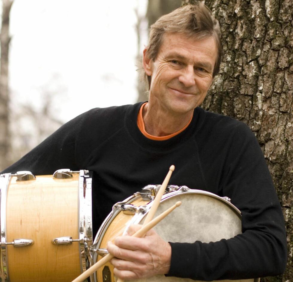 STIM: Trommeslageren og komponisten Espen Rud er inne i en god albumstim. PRESSEFOTO: JON EDVARD SUNDNES