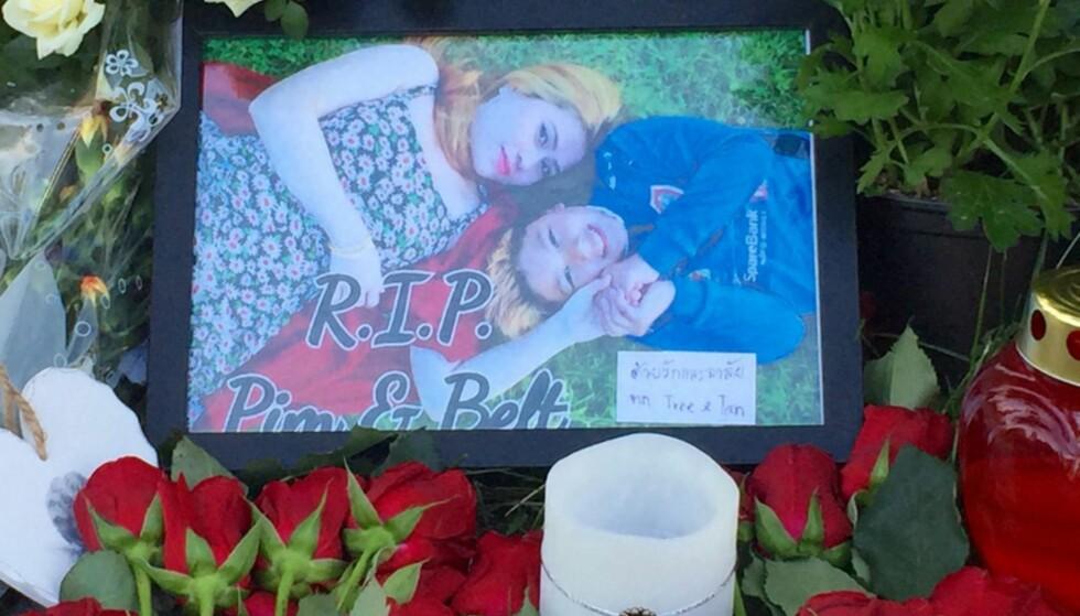 HVIL I FRED: Pimsiri Songngam (37) og hennes 12 år gamle sønn Petchngam Songngam ble drept i Kirkenes natt til mandag 29. august. Foto: Ådne Husby Sandnes / Dagbladet