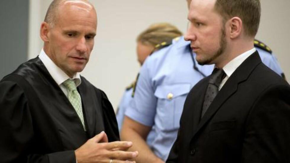 KREVENDE: Geir Lippestad har siden terrorangrepet 22. juli i fjor vært Anders Behring Breiviks advokat. Nå har han og kona kjøpt seg hytte i Sverige, og gleder seg til å ha et fritidshus etter det krevende året. - Det er klart det, vi trives godt der, sier Lippestad. Foto: Scanpix