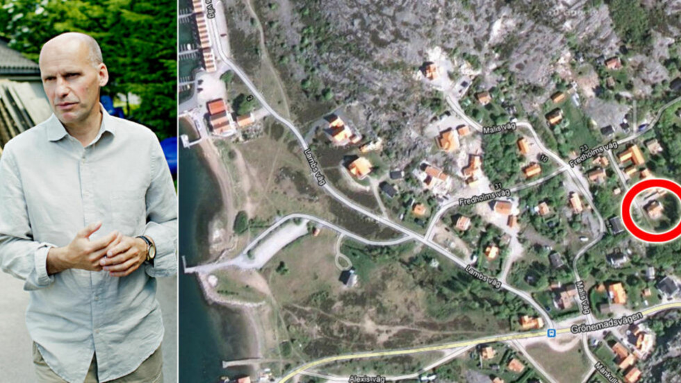 KJØPT HYTTE: Advokat Geir Lippestad og kona Signe har kjøpt seg hytte i Grönemad i Grebbestad. - Vi trives godt der, sier Lippestad. Foto: Google Maps / Stian Lysberg Solum / NTB Scanpix