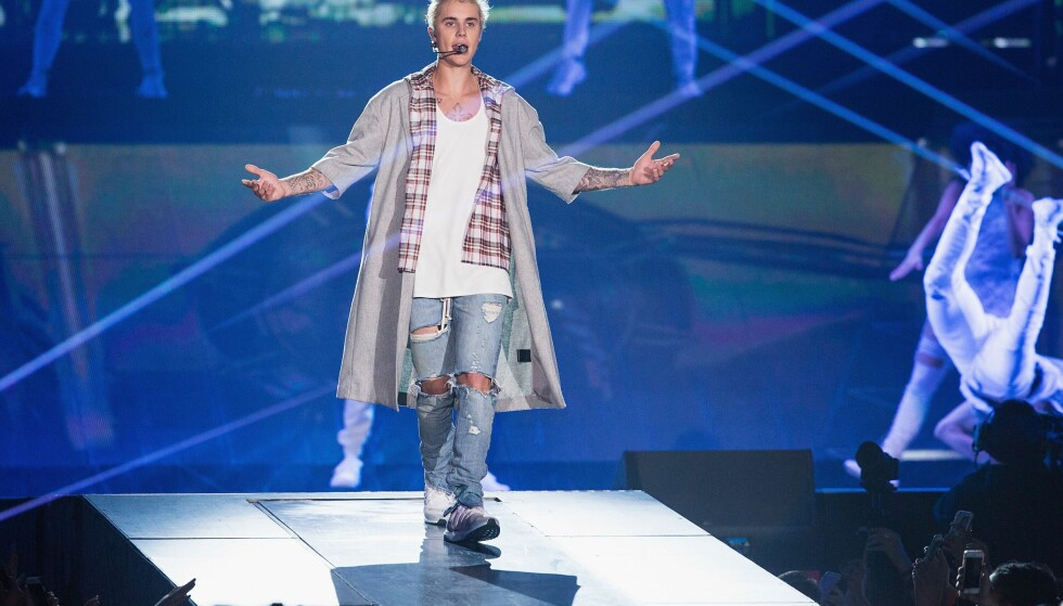 GÅTE: Baltimore suns anmelder skriver at til tross for at Justin Bieber ikke er en eksepsjonell artist står jubelen likevel i taket. Foto: Afp / NTB Scanpix