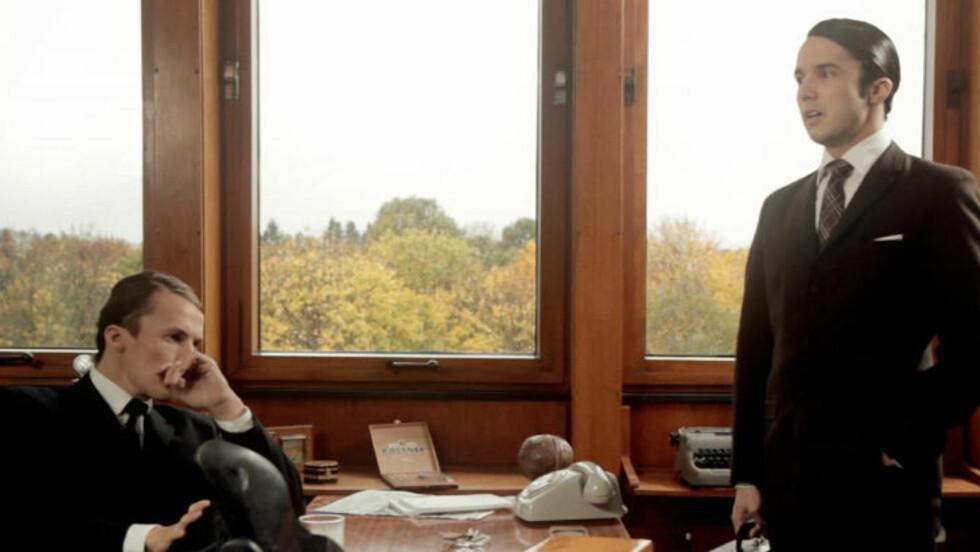 GJENNOMFØRT: Estetikken er viktigere enn manuset i Ylvis-brødrenes tv-serie «The Sixties», som foreløpig bare er en trailer. Foto: TVNorge