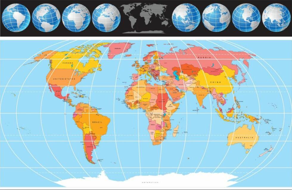 NY STUDIE: Storbritannia har gjennom tidene invadert rundt ni av ti land i verden, viser en ny studie. Foto: Colourbox