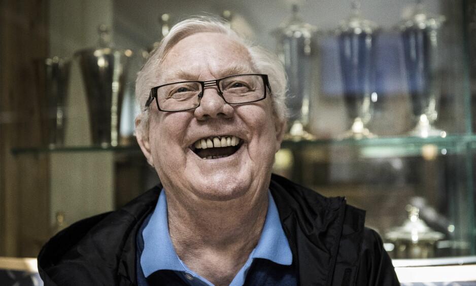 LEGENDEN NILS ARNE EGGEN: RBKs mangeårige trener fyller 75 år i helga. Vi har samlet 75 av hans mest udødelige sitater.  Foto: Lars Eivind Bones