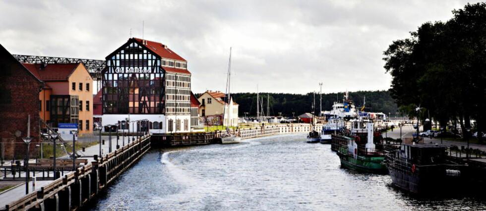 OLD MILL HOTEL: Ligger i Litauens eneste havneby, Klaipeda, som har vært en strategisk viktig by. Alt fra tempelriddere og hanseater til sovjetmakten har slåss om makten her.