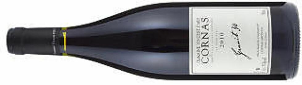 TOPPVIN: Cornas Granit 30, V. Paris 2010 - best hvis den lagres etpar år.
