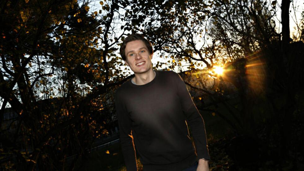 SATSER MOT NYE MEDALJER: Bartosz Piasecki sikret OL-sølv i fekting i sommer. Nå ser han fram mot nye utfordringer neste år. Først skal han konkurrere i Oslo Cup til helga. Foto: Jacques Hvistendahl