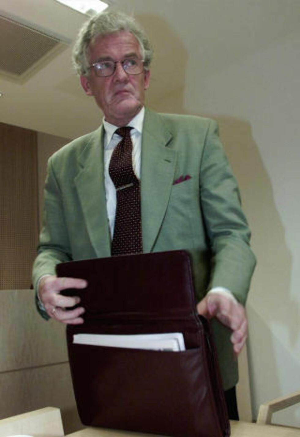 FÅR KRITIKK: Tore Andersen er ikke fornøyd med jobben hans tidligere advokat — Jon Christophersen — gjorde i retten.  Foto: Erik Johansen / SCANPIX
