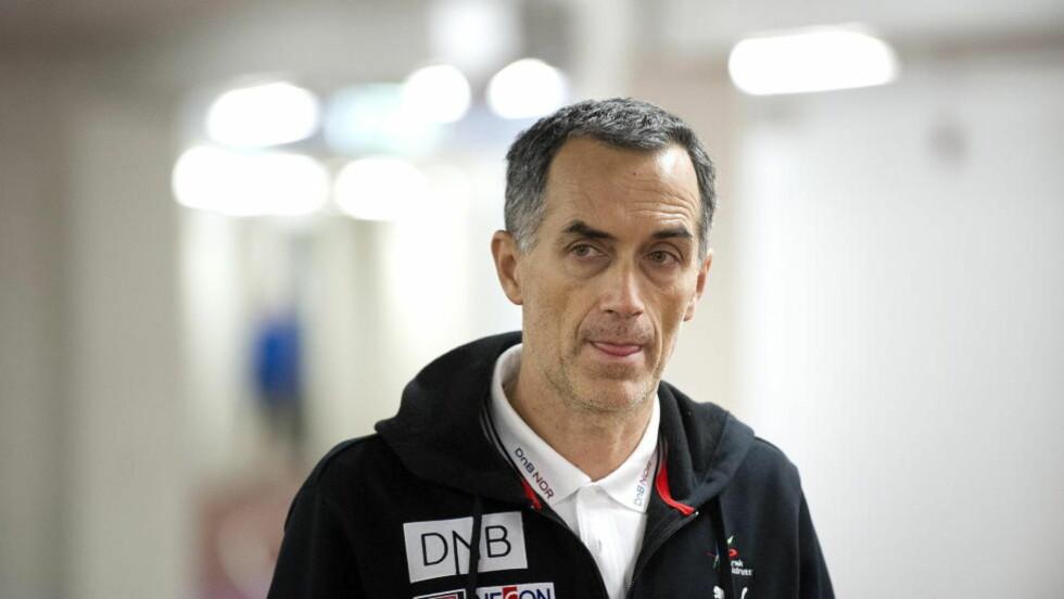 HJEMME I NORGE: Petar Vukicevic er tilbake fra treningsleir i Sør-Afrika, og var i et møte med Friidrettsforbundet i dag. Foto: Øistein Norum Monsen / DAGBLADET