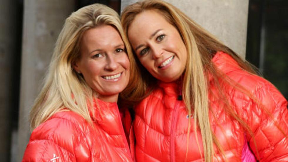 VENNINNER:  Cecilie Andresen Kreutz (41) singel og Camilla Harner Smith (43) gift, Venninner fra Bærum. Foto: TV2
