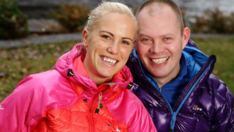 EKTEPAR:  Lill Marie Hande (33) og Stian Hande (33), ektefeller fra Son. Foto: TV2