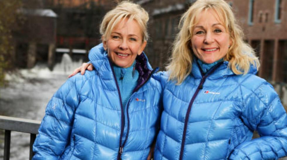 VENNINNER:  Eva Skjønhaug (49) gift og Wenche Eriksen (50) gift, venninner fra Drøbak. Foto: TV2
