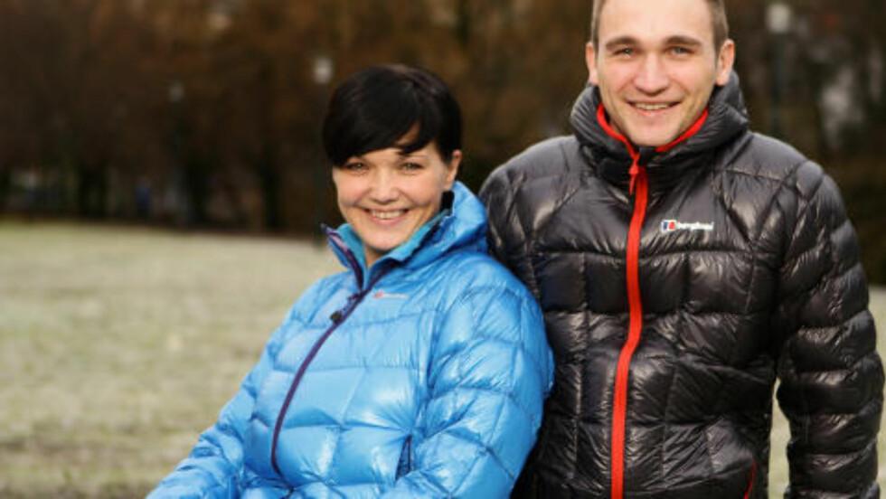 SAMBOERE:  Sveinung Ellingsen (29) og Solfrid Kvalvik (27), samboere fra Andenes. Foto: TV2