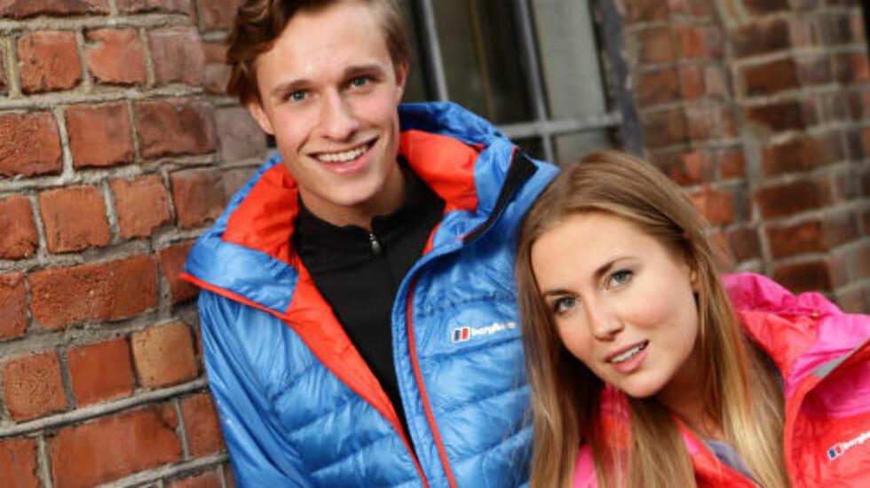 VENNER:  Julie Eline Sannerud (21) singel og Robert Sømod (23) singel, venner fra Drammen/Ådal/Hallingby. Foto: TV2