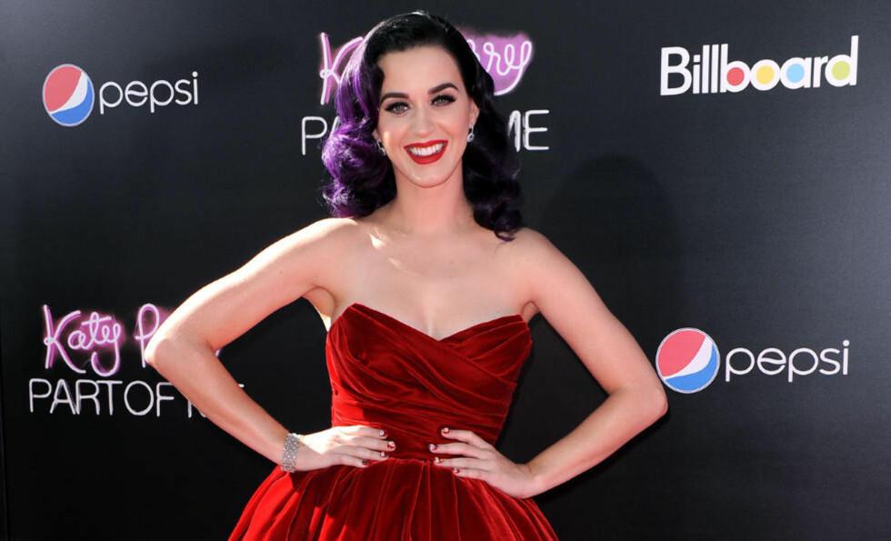 STJERNEMØTE: Den heldige vinneren av Katy Perry-konkurransen sendes til USA for et privat stjernemøte med stjerneartisten Katy Perry. Foto: Stella Pictures