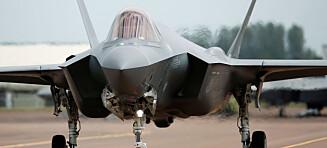 Norske F-35-fly settes på bakken - teknisk feil oppdaget