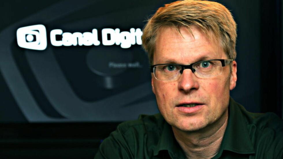 I FORHANDLINGER: Direktør Håkon Li Dragland i Canal Digital tror forhandlingene med TV 2 kan lede fram. Foto: Jacques Hvistendahl