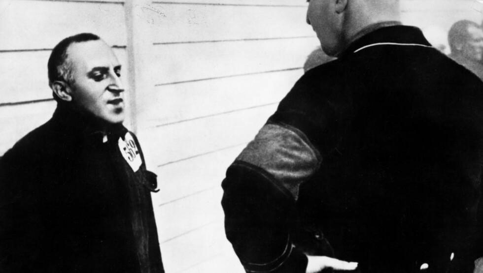 I KONSENTRASJONSLEIR :  Carl Von Ossietzky rundt 1935, året han vant Nobels fredspris. Foto: SCANPIX.
