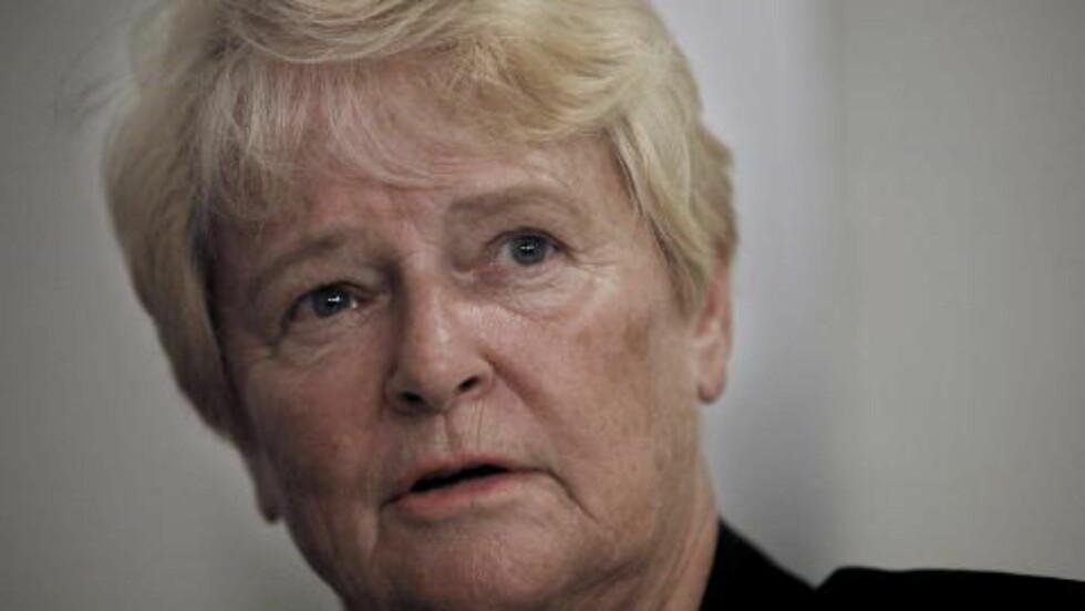 FORBILDE: Gro Harlem Brundtland er Gerd Kristiansens politiske forbilde. Foto: ERLING HÆGELAND/Dagbladet