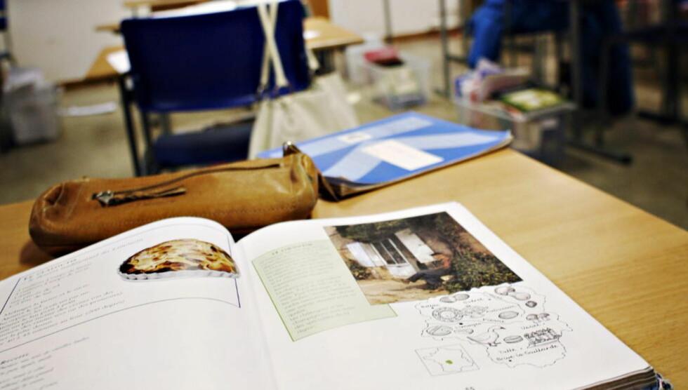UNDERSØKELSE: En ny undersøkelse viser at norske 4.-klassinger har gjort et matte-byks.  Foto: Frank Karlsen / Dagbladet