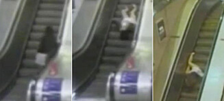 Derfor bør du være ekstra forsiktig i rulletrappa