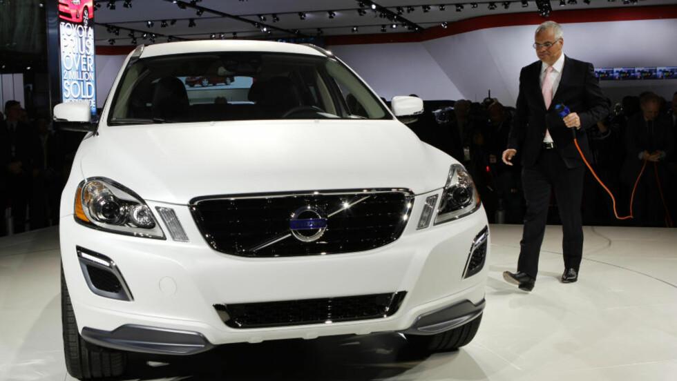 """HYBRID: Kjøper du Volvos nye V60 hybrid plug-in får du med personlig mekaniker """"på kjøpet"""" Foto: NTB Scanpix"""