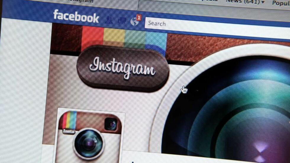 KLEPTOKRATI: Facebook har kunngjort nye opphavsrettsregler for bildetjenesten Instagram. Fra januar kan tjenesten selge bilder brukerne deler, uten å varsle dem eller kompensere for bruken. Foto: Scanpix