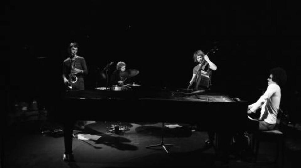 ARKIVFRUKT:  Keith Jarrett/Jan Garbarek/Palle Danielsson/Jon Christensens «Sleeper». FOTO: TERJE MOSNES
