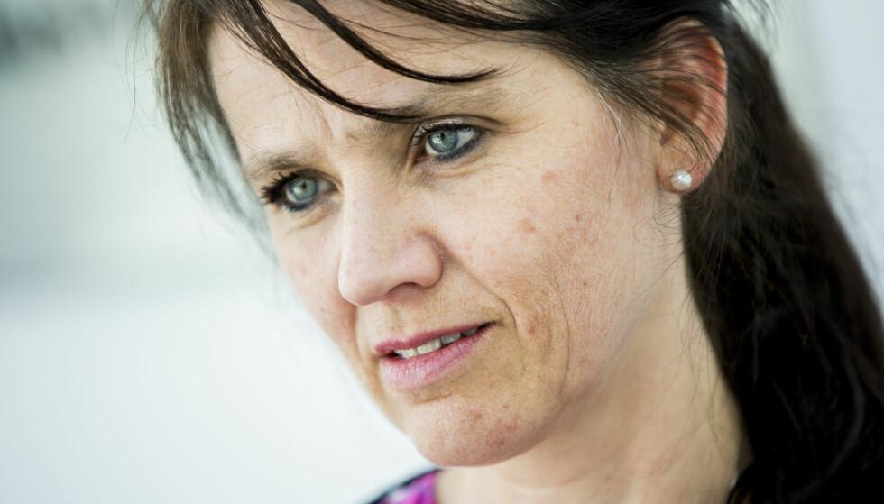 I KONFLIKT: Anne-Kari Bratten, leder for Spekter Arbeidsgiverforening, diskuterer legenes arbeidstider med Legeforeningen og Akademikerne Helse. Foto: Vegard Wivestad Grøtt / NTB scanpix