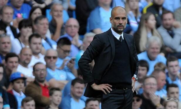 IMPONERT AV KING: City-manager Pep Guardiola syns Joshua King er en bra spiller. Foto: Scanpix