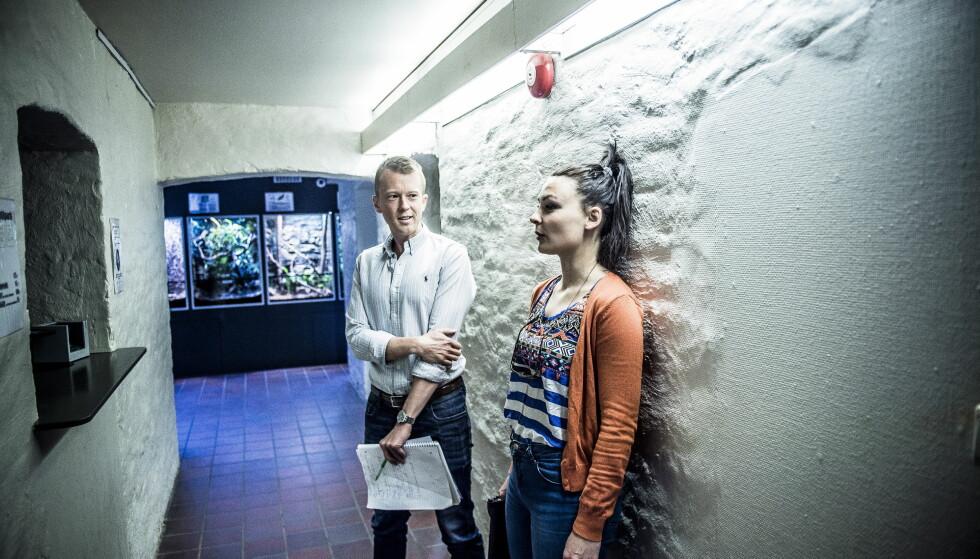 Utfordrer seg selv: Maja har edderkoppfobi: - Edderkoppangsten min kommer ikke av en spesiell opplevelse. Jeg har bare alltid vært redd for edderkopper, sier hun.Foto: Thomas Rasmus Skaug / Dagbladet