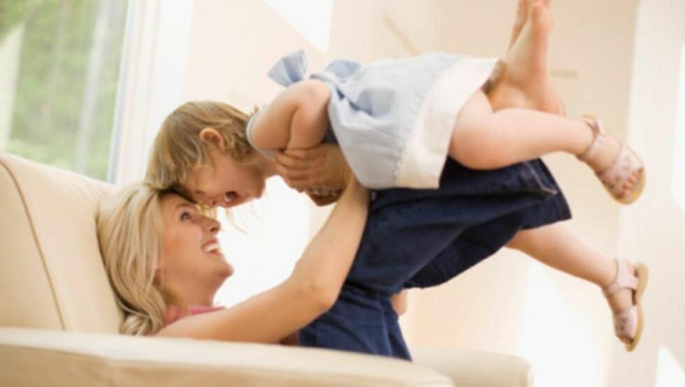 ENDRER DEG: Mange kvinner opplever en forandring i personligheten etter at de får barn. Foto: Thinkstock.com