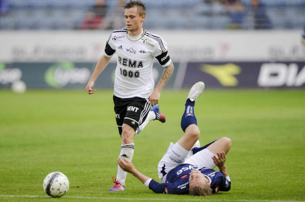REISER HJEM: Peter Ankersen ble ingen suksess i Rosenborg. Nå reiser han hjem til Esbjerg og Danmark etter bare et halvt år i Trondheim. Foto: NTB Scanpix