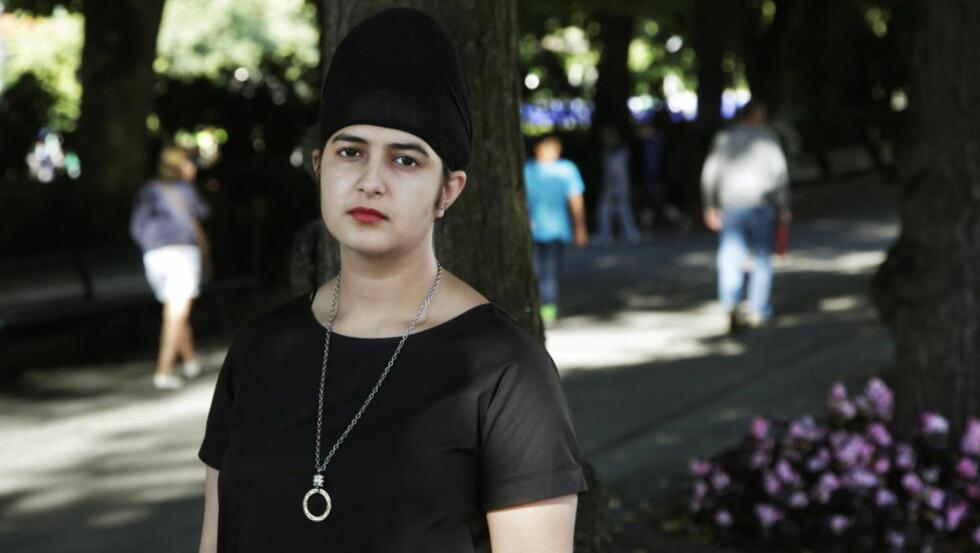 PRABLEEN KAUR: Snakker ut om mobbing. Foto: Steinar Buholm / Dagbladet.