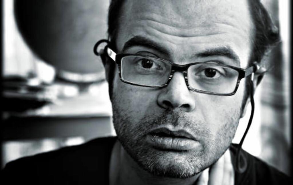 Hans Olav Lahlum.  Foto: Lars Eivind Bones