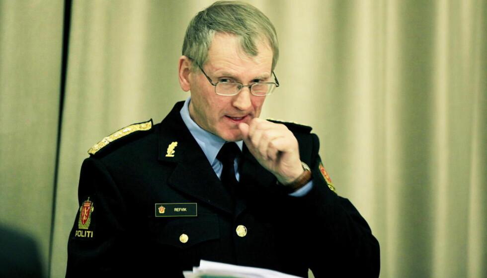 TAUS: Vidar Refvik var fungerende politidirektør 22. juli i fjor, og assisterende politidirektør i dag. Foto: Jacques Hvistendahl / Dagbladet