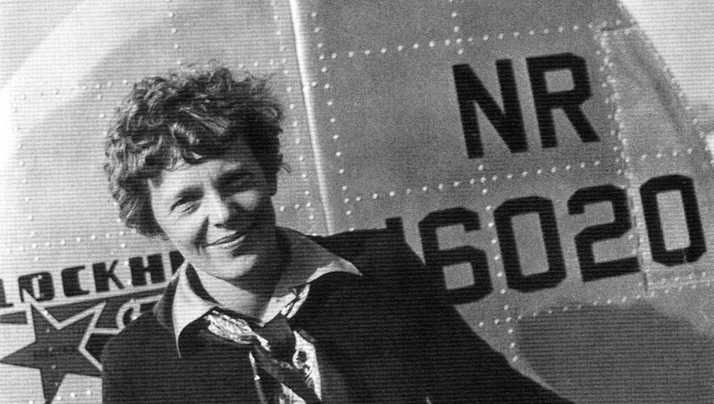 GÅTE: Hva som hendte med Amelia Earhart har vært en gåte siden flyet hennes forsvant i 1937. REUTERS/PRNewsFoto/Newscom/Handout