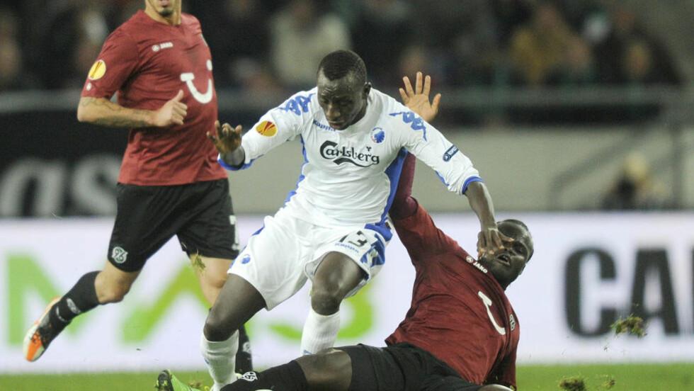 TIL MOLDE: Pape Pate Diouf lånes ut fra FCK til Molde. Foto:  REUTERS/Fabian Bimmer