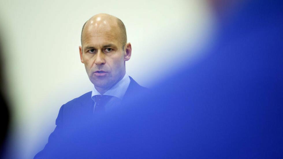 GIKK: Øystein Mæland valgte torsdag å gå av som Politidirektør. Foto: Jo Straube / Dagbladet