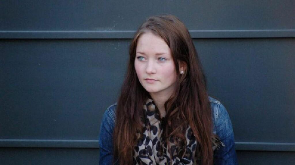 SAVNET: Sigrid Giskegjerde Schjetne (16) forsvant natt til 5. august da hun var på vei hjem fra ei venninne. Foto: EPA/PRIVATE/NTBSCANPIX