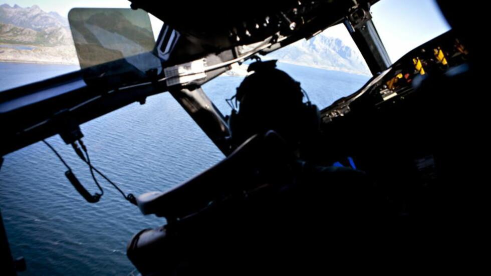OVERVÅKNINGSFLY: 333-skvadronens P-3C Orion-fly har kapasitet til å fly langt og lavt, blant annet for å overvåke militær maritim aktivitet langs kysten og fisket i Barentshavet. Foto: Geir Barstein / Dagbladet