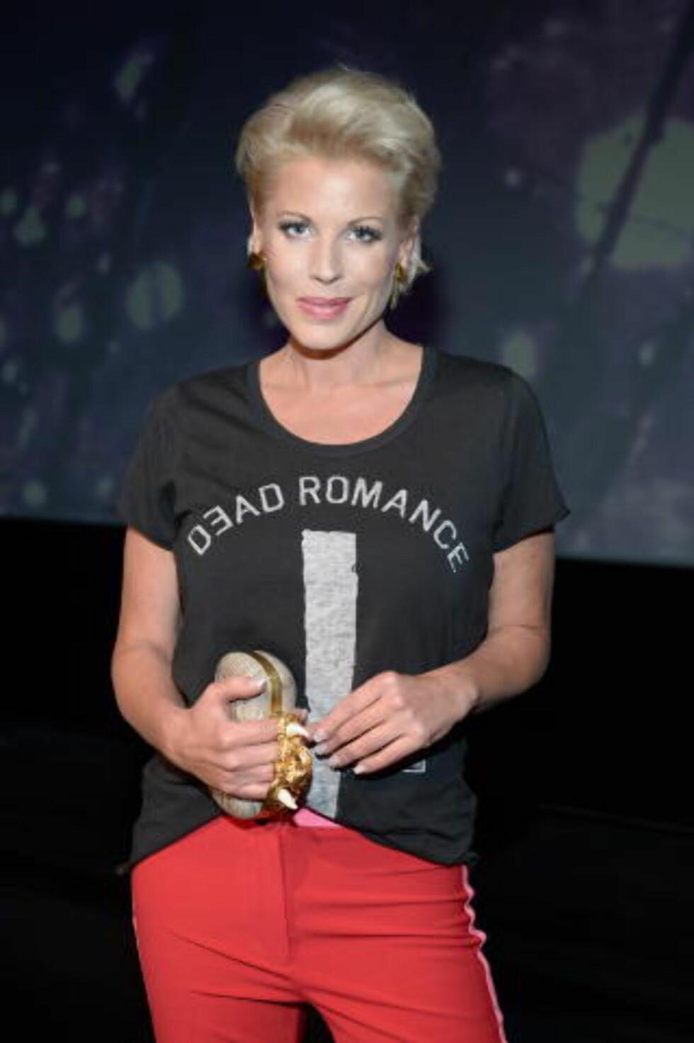 BLE HØRT: Anne-Kat. Hærland spøker med Eidsvåg i sin nye forestilling. Musikeren har svart henne på Twitter. Foto: Stella Pictures