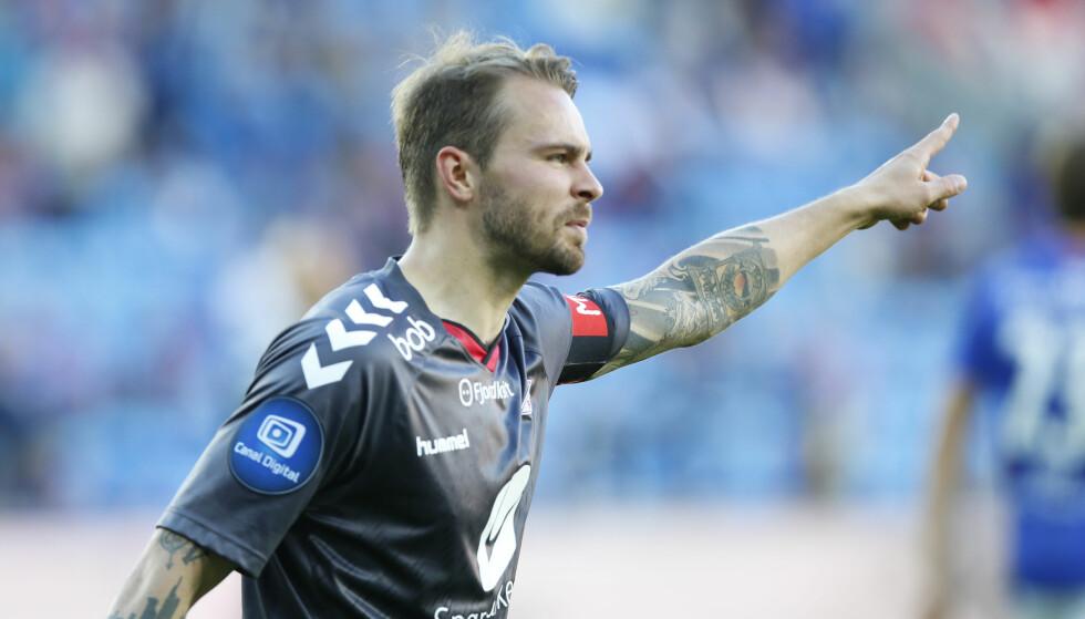 RASENDE: Vadim Demidov synes måten Henrik Furebotn falt på, er pinlig. Foto: Terje Pedersen / NTB scanpix