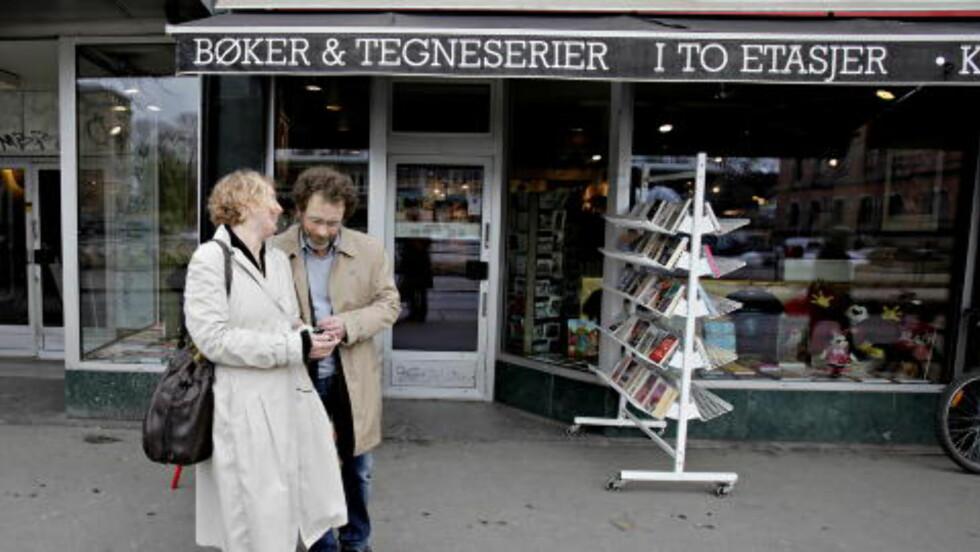 INNADVENDT: Per Petterson startet sin litterære løpebane på bokhandelen Tronsmo. At forfatterne stort sett opererer innenfor en lukket, litterær verden er til skjemsel for den offentlig samtale, skriver kronikkforfatteren.  Foto: Lars Eivind Bones/Dagbladet