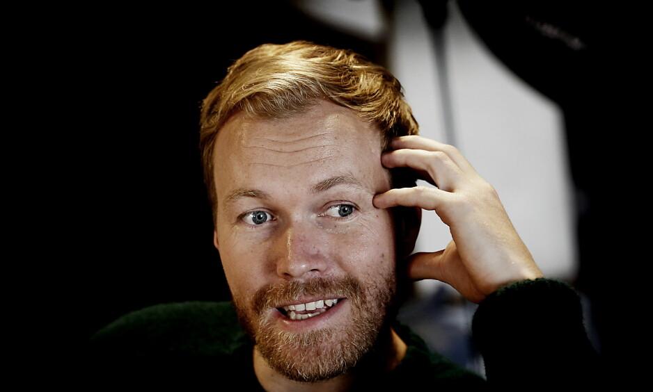 –STORT ØYEBLIKK: «Nobel»-skuespiller Christian Rubeck har rollen som utenriksminister i NRK-serien «Nobel». . Foto: Jacques Hvistendahl