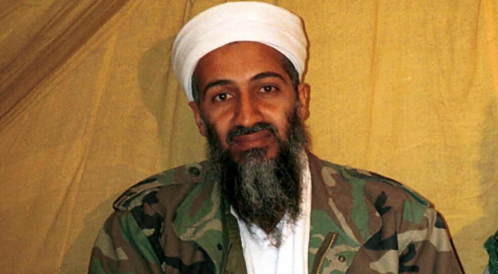 DREPT: Osama bin Laden. Foto: AP / NTB scanpix
