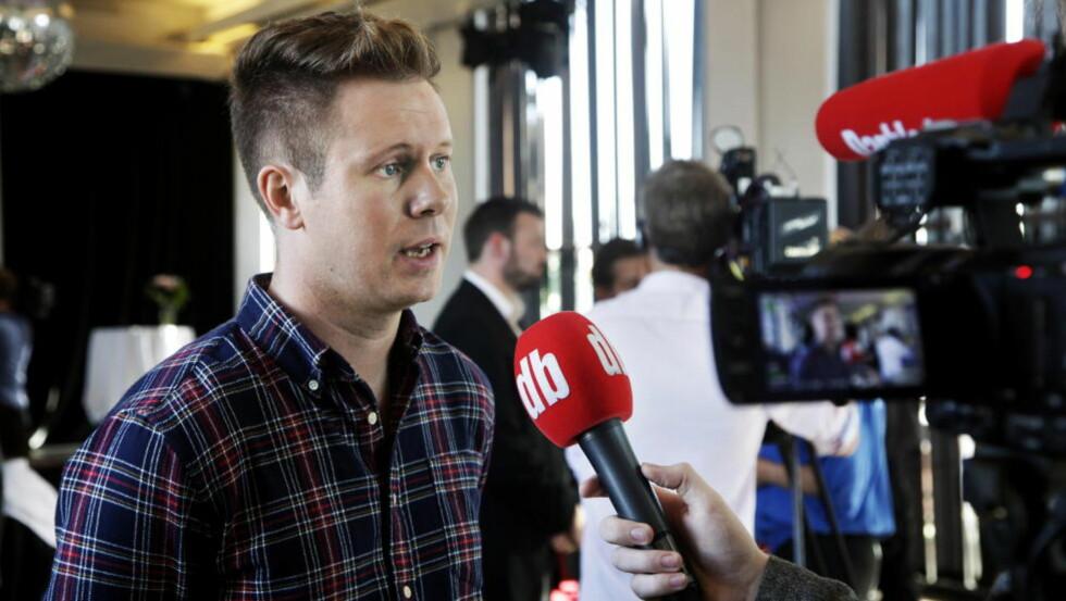 BØR DISKUTERE PEDERSENS ROLLE: AUF-leder Eskil Pedersen. Foto: Steinar Buholm / Dagbladet.