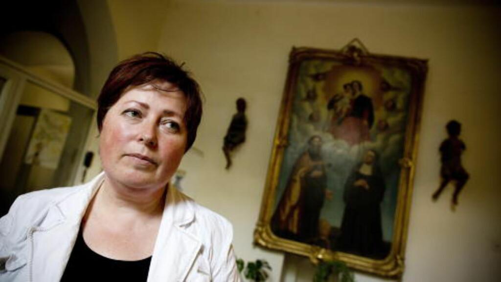 - RETTSLØSE: - Vi har hørt fra flere traffickingofre fra Norge og Vest-Europa at de føler seg helt rettsløse, sier Kristina Misiniene fra organisasjonen Caritas. Foto: TOMM W. CHRISTIANSEN/DAGBLADET