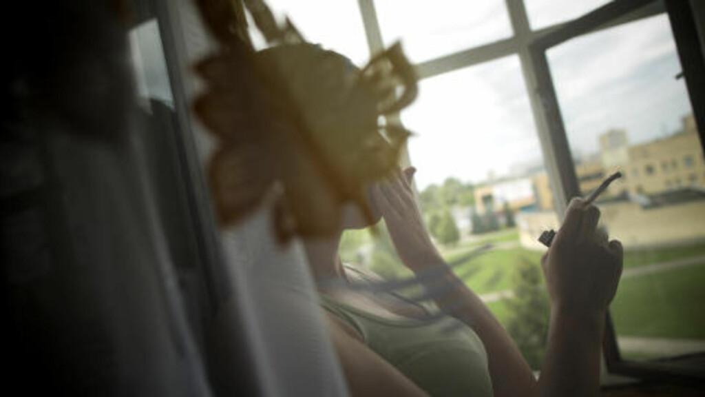 DRØMMER OM NORMALT LIV: - Jeg har igjen begynt å drømme om et normalt liv, forteller Eva når hun møter Dagbladet i Litauen.