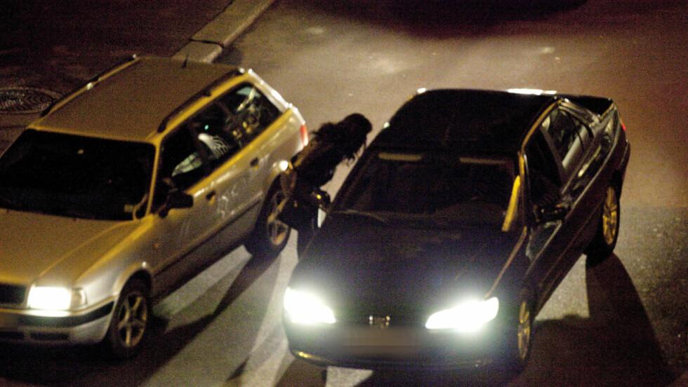 VOLD OG TRUSLER: I Oslos gater bruker litauiske kriminelle vold og trusler for å kontrollere sexmarkedet, ifølge norsk politi. Foto: BJØRN LANGSEM/DAGBLADET